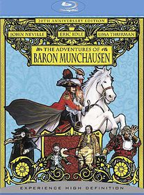 Adventures of Baron Munchausen: 20th Anniversary - (Region A Import Blu-ray Disc)