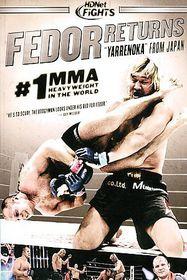 Hdnet Fights:Fedor Returns - (Region 1 Import DVD)