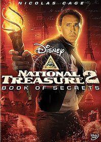 National Treasure 2:Book of Secrets - (Region 1 Import DVD)
