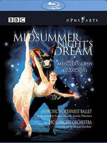Mendelssohn: Midsummernights Dream (blu-ray) - A Midsummer Night's Dream (Blu-Ray)