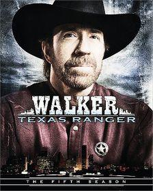 Walker Texas Ranger:Fifth Season - (Region 1 Import DVD)