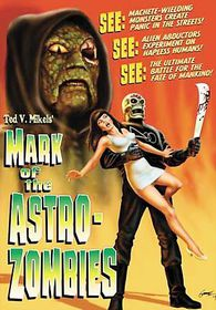 Mark of the Astro Zombies - (Region 1 Import DVD)