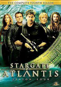 Stargate Atlantis:Season 4 - (Region 1 Import DVD)