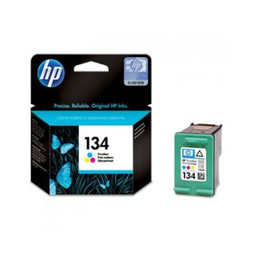 HP 134 Tri-Colour Ink Cartridge