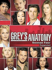 Grey's Anatomy:Complete Fourth Season - (Region 1 Import DVD)