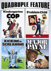 Family Comedy Pack Quadruple Feature - (Region 1 Import DVD)