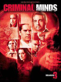 Criminal Minds:Third Season - (Region 1 Import DVD)