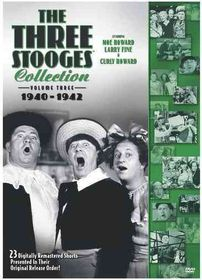 Three Stooges Collection:1940-1942 - (Region 1 Import DVD)