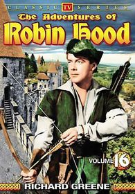 Adventures of Robin Hood Vol 16 - (Region 1 Import DVD)
