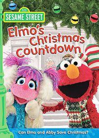Elmo's Christmas Countdown - (Region 1 Import DVD)