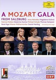 Mozart Gala from Salzburg - (Region 1 Import DVD)