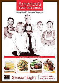 America's Test Kitchen:Season 8 - (Region 1 Import DVD)