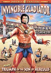 Gladiator Double Feature:Invincible G - (Region 1 Import DVD)