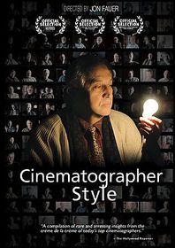 Cinematographer Style - (Region 1 Import DVD)