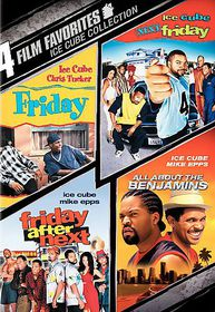 4 Film Favorite:Ice Cube Collection - (Region 1 Import DVD)