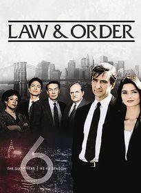 Law & Order:Sixth Year - (Region 1 Import DVD)