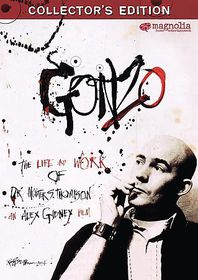 Gonzo:Life & Work of Dr Hunter S Thompson - (Region 1 Import DVD)