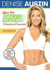 Denise Austin:Get Fit Daily Dozen - (Region 1 Import DVD)
