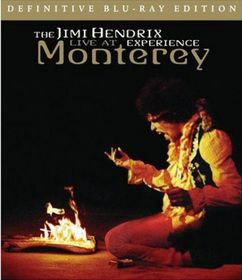 Jimi Hendrix: Live at Monterey - (Import Blu-ray Disc)