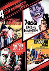 4 Film Favorites:Draculas - (Region 1 Import DVD)