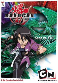 Bakugan Volume Three:Good Versus Evil - (Region 1 Import DVD)