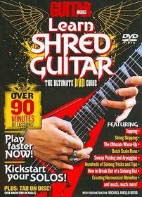 Guitar World:Learn Shred Guitar - (Region 1 Import DVD)