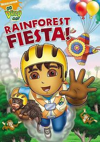 Go Diego Go:Rainforest Fiesta - (Region 1 Import DVD)