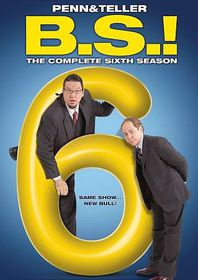 Penn & Teller:B S Complete 6th Season - (Region 1 Import DVD)