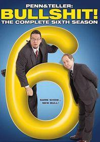 Penn & Teller:Bullshit Complete 6th S - (Region 1 Import DVD)