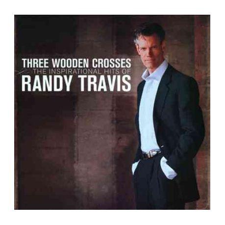 Randy Travis Three Wooden Crosses Inspirational Hi Cd