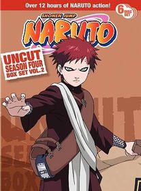 Naruto Uncut Season 4 Box Set Vol 2 - (Region 1 Import DVD)