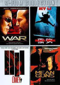 War/Black Mask/Limey/Mean Guns - (Region 1 Import DVD)