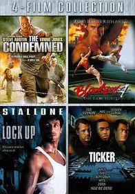Condemned/Bloodsport 4/Lock up/Ticker - (Region 1 Import DVD)