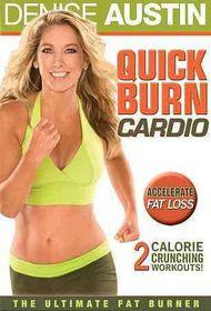 Denise Austin:Quick Burn Cardio - (Region 1 Import DVD)