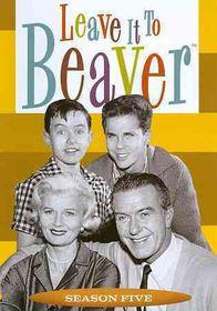 Leave It to Beaver:Complete Season 5 - (Region 1 Import DVD)