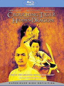 Crouching Tiger, Hidden Dragon - (Region A Import Blu-ray Disc)