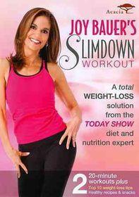 Joy Bauer's Slimdown Workout - (Region 1 Import DVD)