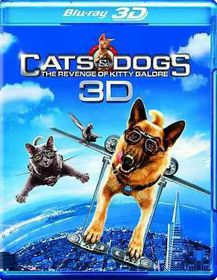 Cats & Dogs:Revenge/Kitty Galore 3d - (Region A Import Blu-ray Disc)