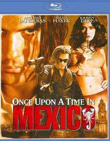 Once Upon a Time in Mexico - (Region A Import Blu-ray Disc)