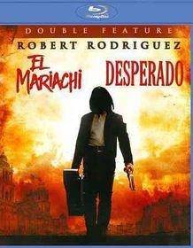 Desperado/El Mariachi - (Region A Import Blu-ray Disc)