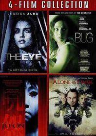 Eye/Bug/Ju on/Alone in the Dark - (Region 1 Import DVD)