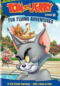 Tom and Jerry:Fur Flying Adventures - (Region 1 Import DVD)
