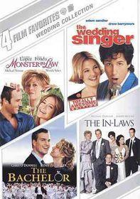 4 Film Favorites:Wedding Collection - (Region 1 Import DVD)