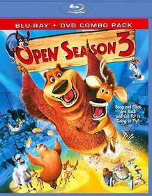 Open Season 3 (Bd/DVD Combo) - (Region A Import Blu-ray Disc)
