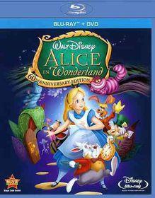 Alice in Wonderland 60th Ann Ed - (Region A Import Blu-ray Disc)