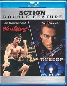 Timecop/Bloodsport - (Region A Import Blu-ray Disc)