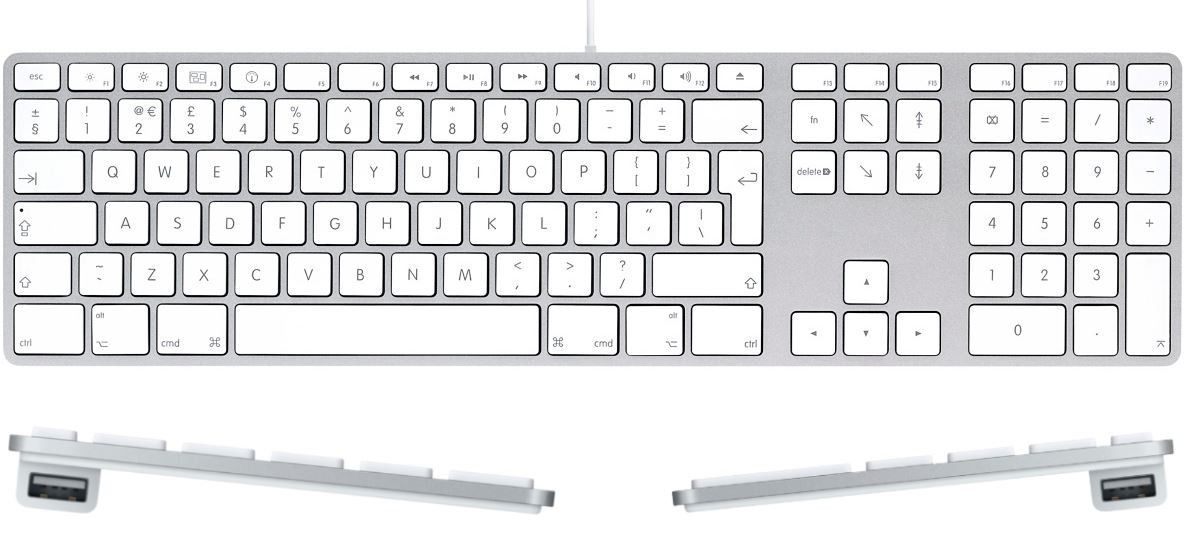 apple keyboard with numeric keypad usb buy online in south africa. Black Bedroom Furniture Sets. Home Design Ideas