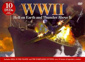 Wwii:Hell on Earth and Thunder Above - (Region 1 Import DVD)