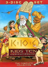 Kids' Ten Commandments - (Region 1 Import DVD)
