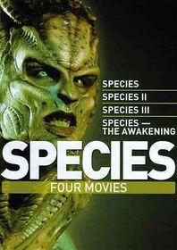 Species Four Movies - (Region 1 Import DVD)